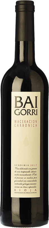 7,95 € Free Shipping | Red wine Baigorri Maceración Carbónica Joven D.O.Ca. Rioja The Rioja Spain Tempranillo Bottle 75 cl