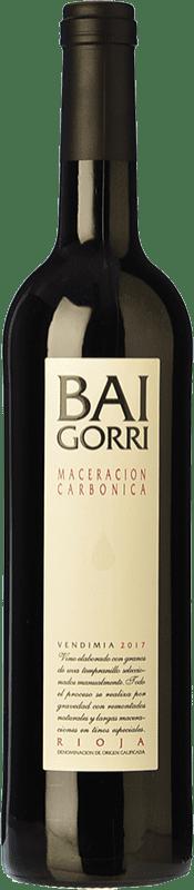 7,95 € Envoi gratuit | Vin rouge Baigorri Maceración Carbónica Joven D.O.Ca. Rioja La Rioja Espagne Tempranillo Bouteille 75 cl