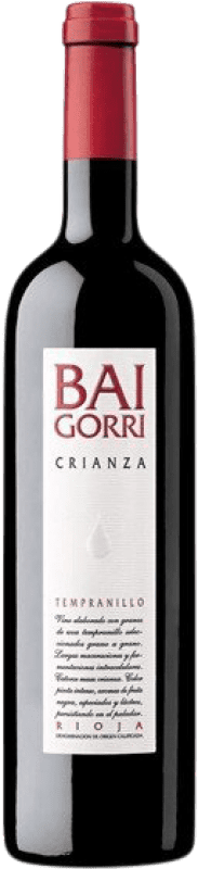 12,95 € Free Shipping | Red wine Baigorri Crianza D.O.Ca. Rioja The Rioja Spain Tempranillo Bottle 75 cl