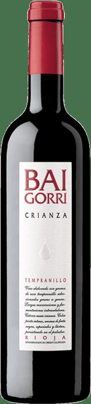 12,95 € Envío gratis | Vino tinto Baigorri Crianza D.O.Ca. Rioja La Rioja España Tempranillo Botella 75 cl