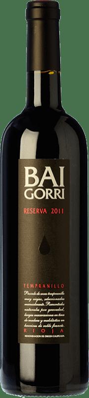 51,95 € 免费送货   红酒 Baigorri Reserva D.O.Ca. Rioja 拉里奥哈 西班牙 Tempranillo 瓶子 Magnum 1,5 L