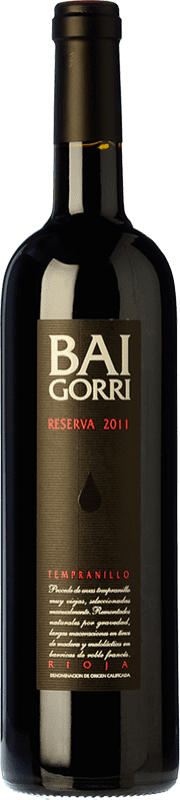 51,95 € Free Shipping | Red wine Baigorri Reserva 2009 D.O.Ca. Rioja The Rioja Spain Tempranillo Magnum Bottle 1,5 L
