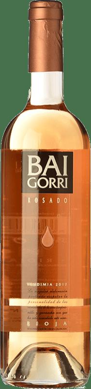 9,95 € 免费送货   玫瑰酒 Baigorri D.O.Ca. Rioja 拉里奥哈 西班牙 Tempranillo, Grenache 瓶子 75 cl