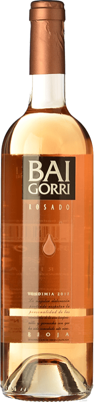 9,95 € Free Shipping | Rosé wine Baigorri D.O.Ca. Rioja The Rioja Spain Tempranillo, Grenache Bottle 75 cl