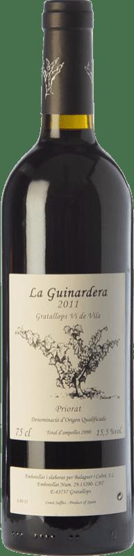 22,95 € Free Shipping | Red wine Balaguer i Cabré La Guinardera Vi de Vila de Gratallops Crianza D.O.Ca. Priorat Catalonia Spain Grenache Bottle 75 cl