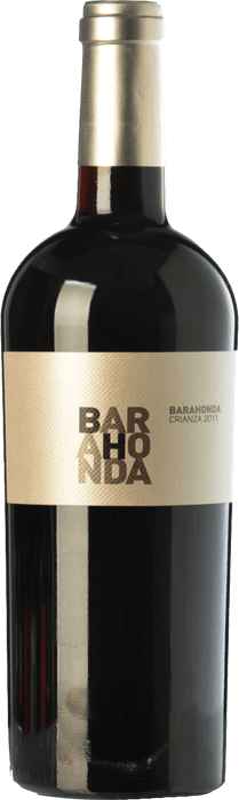11,95 € 免费送货 | 红酒 Barahonda Crianza D.O. Yecla 穆尔西亚地区 西班牙 Syrah, Monastrell, Petit Verdot 瓶子 75 cl