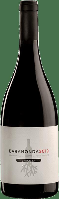 11,95 € Envío gratis | Vino tinto Barahonda Crianza D.O. Yecla Región de Murcia España Syrah, Monastrell, Petit Verdot Botella 75 cl