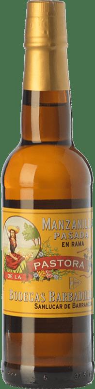 23,95 € | Fortified wine Barbadillo Manzanilla Pasada Pastora D.O. Manzanilla-Sanlúcar de Barrameda Andalusia Spain Palomino Fino Bottle 75 cl