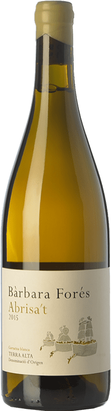 18,95 € Free Shipping | White wine Bàrbara Forés Abrisa't D.O. Terra Alta Catalonia Spain Grenache White Bottle 75 cl