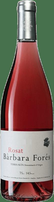 8,95 € Free Shipping | Rosé wine Bàrbara Forés Rosat D.O. Terra Alta Catalonia Spain Syrah, Grenache, Carignan Bottle 75 cl