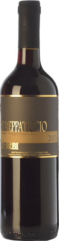 6,95 € Free Shipping | Red wine Barbi Streppaticcio I.G.T. Umbria Umbria Italy Sangiovese, Montepulciano Bottle 75 cl
