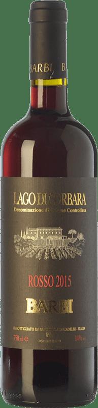11,95 € Free Shipping | Red wine Barbi D.O.C. Lago di Corbara Umbria Italy Sangiovese, Montepulciano, Canaiolo Bottle 75 cl