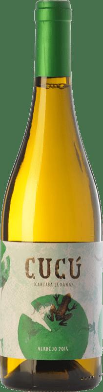 11,95 € Free Shipping | White wine Barco del Corneta Cucú Crianza I.G.P. Vino de la Tierra de Castilla y León Castilla y León Spain Verdejo Bottle 75 cl