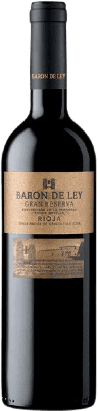 18,95 € | Red wine Barón de Ley Gran Reserva D.O.Ca. Rioja The Rioja Spain Tempranillo Bottle 75 cl