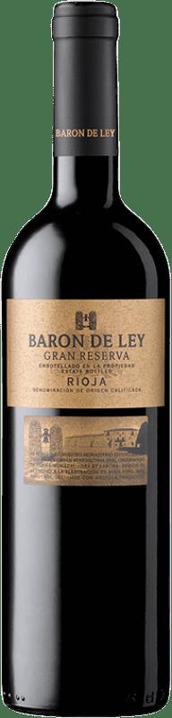 23,95 € Envoi gratuit   Vin rouge Barón de Ley Gran Reserva D.O.Ca. Rioja La Rioja Espagne Tempranillo Bouteille 75 cl