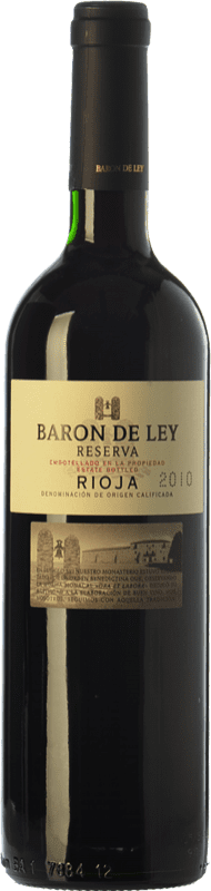 28,95 € | Red wine Barón de Ley Reserva D.O.Ca. Rioja The Rioja Spain Tempranillo Magnum Bottle 1,5 L