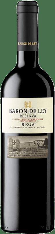 28,95 € Envío gratis   Vino tinto Barón de Ley Reserva D.O.Ca. Rioja La Rioja España Tempranillo Botella Mágnum 1,5 L