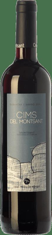 12,95 € Envío gratis | Vino tinto Baronia Cims del Montsant Joven D.O. Montsant Cataluña España Garnacha, Samsó Botella 75 cl