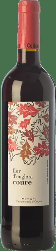9,95 € Envío gratis | Vino tinto Baronia Flor d'Englora Roure Joven D.O. Montsant Cataluña España Garnacha, Cariñena, Garnacha Peluda Botella 75 cl