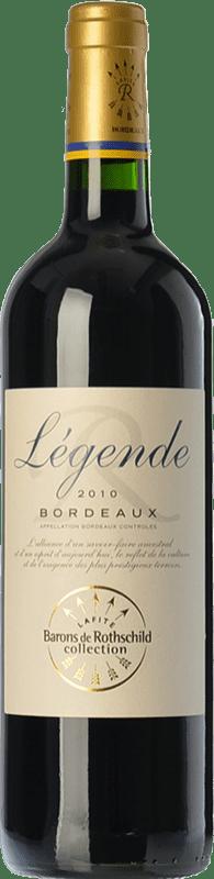 7,95 € Envoi gratuit | Vin rouge Barons de Rothschild Collection Légende Joven A.O.C. Bordeaux Bordeaux France Merlot, Cabernet Sauvignon, Cabernet Franc Bouteille 75 cl