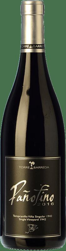 16,95 € | Red wine Barreda Pañofino Crianza I.G.P. Vino de la Tierra de Castilla Castilla la Mancha Spain Tempranillo Bottle 75 cl
