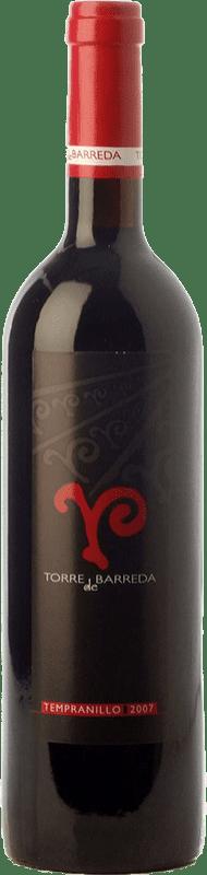 8,95 € | Red wine Barreda Torre de Barreda Joven I.G.P. Vino de la Tierra de Castilla Castilla la Mancha Spain Tempranillo Bottle 75 cl
