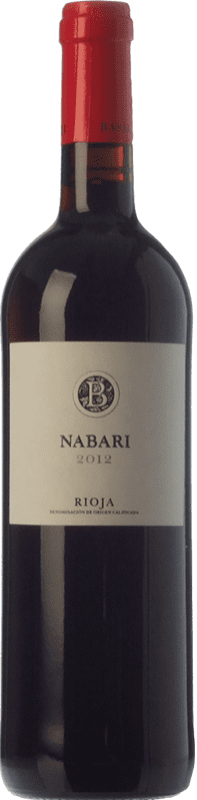 7,95 € | Red wine Basagoiti Nabari Joven D.O.Ca. Rioja The Rioja Spain Tempranillo, Grenache Bottle 75 cl