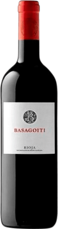 9,95 € | Red wine Basagoiti Crianza D.O.Ca. Rioja The Rioja Spain Tempranillo, Grenache Bottle 75 cl