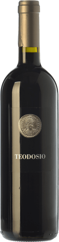 13,95 € 免费送货 | 红酒 Basilisco Teodosio D.O.C. Aglianico del Vulture 巴西利卡塔 意大利 Aglianico 瓶子 75 cl
