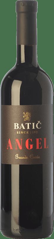 43,95 € Free Shipping | Red wine Batič Angel Grand Cuvée Crianza I.G. Valle de Vipava Valley of Vipava Slovenia Merlot, Cabernet Sauvignon, Cabernet Franc Bottle 75 cl