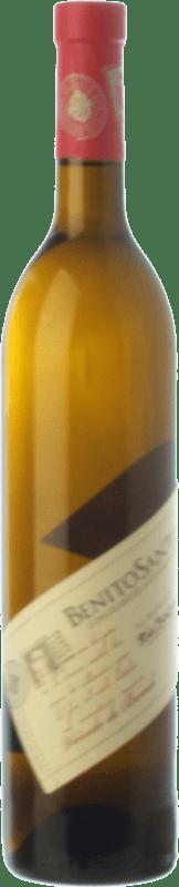 13,95 € Envío gratis | Vino blanco Benito Santos Viñedo de Bemil D.O. Rías Baixas Galicia España Albariño Botella 75 cl