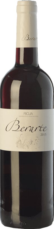 6,95 € Free Shipping | Red wine Berarte Joven D.O.Ca. Rioja The Rioja Spain Tempranillo Bottle 75 cl