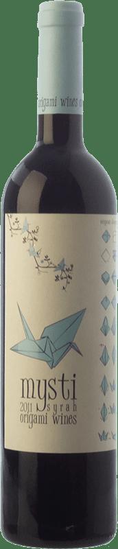 11,95 € Envío gratis | Vino tinto Berdié Mysti Joven D.O. Montsant Cataluña España Syrah Botella 75 cl