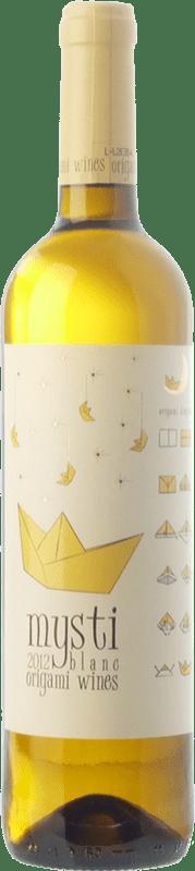 9,95 € Envoi gratuit | Vin blanc Berdié Mysti Blanc D.O. Penedès Catalogne Espagne Xarel·lo, Muscat Petit Grain Bouteille 75 cl