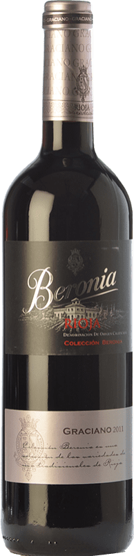 12,95 € | Red wine Beronia Joven D.O.Ca. Rioja The Rioja Spain Graciano Bottle 75 cl