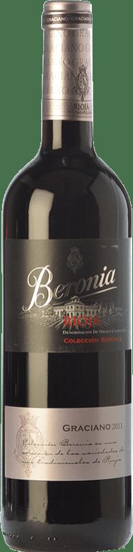 12,95 € Envío gratis | Vino tinto Beronia Joven D.O.Ca. Rioja La Rioja España Graciano Botella 75 cl