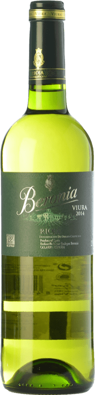 8,95 € Free Shipping | White wine Beronia D.O.Ca. Rioja The Rioja Spain Viura Bottle 75 cl