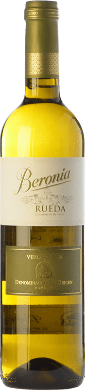 9,95 € Free Shipping | White wine Beronia D.O. Rueda Castilla y León Spain Verdejo Bottle 75 cl
