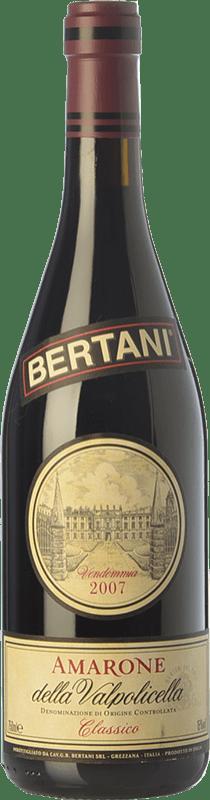95,95 € Free Shipping | Red wine Bertani Classico 2008 D.O.C.G. Amarone della Valpolicella Veneto Italy Corvina, Rondinella Bottle 75 cl