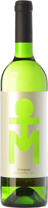 7,95 € Free Shipping | White wine BeTomish D.O. Tarragona Catalonia Spain Muscatel, Macabeo, Sauvignon White Bottle 75 cl