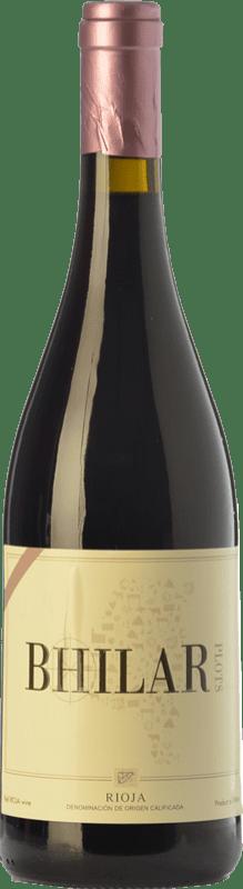 13,95 € Free Shipping | Red wine Bhilar Crianza D.O.Ca. Rioja The Rioja Spain Tempranillo, Grenache, Viura Bottle 75 cl