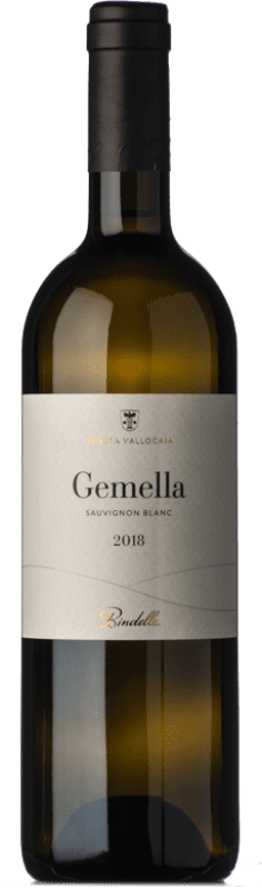 12,95 € Free Shipping | White wine Bindella Gemella I.G.T. Toscana Tuscany Italy Sauvignon White Bottle 75 cl
