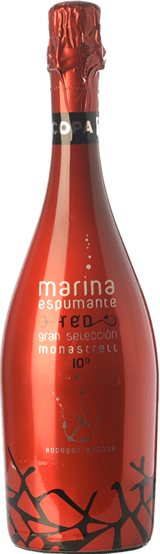 6,95 € | Red sparkling Bocopa Marina Espumante D.O. Alicante Valencian Community Spain Monastrell Bottle 75 cl