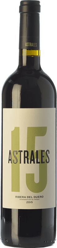 29,95 € Free Shipping | Red wine Astrales Crianza D.O. Ribera del Duero Castilla y León Spain Tempranillo Bottle 75 cl
