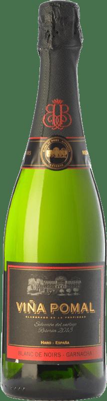 23,95 € Envío gratis | Espumoso blanco Bodegas Bilbaínas Viña Pomal Brut Reserva D.O. Cava Cataluña España Garnacha Botella 75 cl