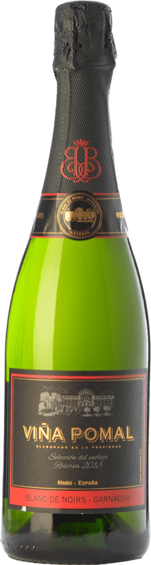23,95 € Free Shipping | White sparkling Bodegas Bilbaínas Viña Pomal Brut Reserva D.O. Cava Catalonia Spain Grenache Bottle 75 cl