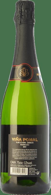 22,95 € Free Shipping | White sparkling Bodegas Bilbaínas Viña Pomal Brut Reserva D.O. Cava Catalonia Spain Grenache Bottle 75 cl