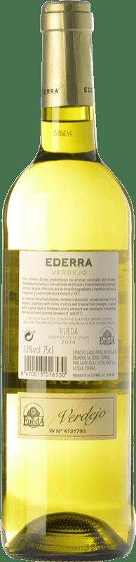 6,95 € Free Shipping   White wine Bodegas Bilbaínas Ederra Verdejo Joven D.O. Rueda Castilla y León Spain Viura, Verdejo Bottle 75 cl