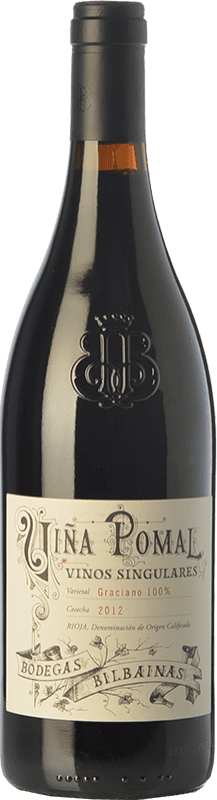 75,95 € | Red wine Bodegas Bilbaínas Viña Pomal Vinos Singulares Crianza D.O.Ca. Rioja The Rioja Spain Graciano Bottle 75 cl