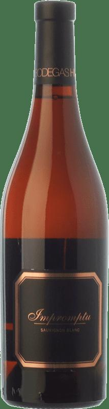 19,95 € 免费送货 | 白酒 Hispano-Suizas Impromptu Crianza D.O. Utiel-Requena 巴伦西亚社区 西班牙 Sauvignon White 瓶子 75 cl
